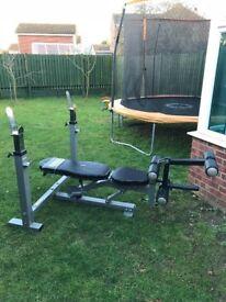 Gym press bench