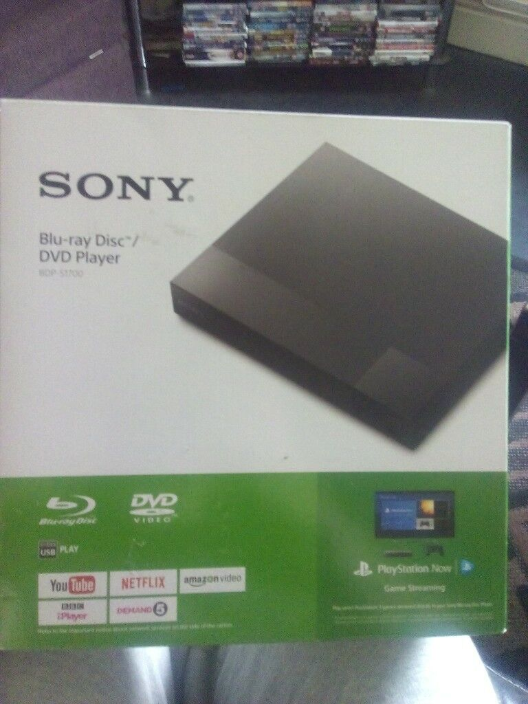 sony blu ray/ dvd combo with netflix youtubr and more