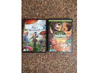 Alice In Wonderland & Jungle Book Dvds