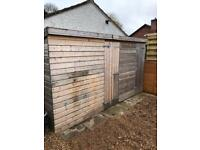 Large Garden Shed or can be turned into a large dog Kennel