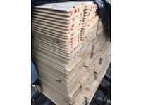 4.8mtr 5inchx12mm shiplap £4 each