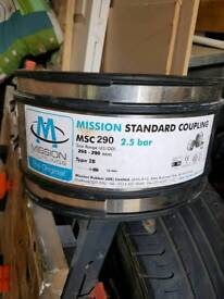 Mission coupling, pipe coupling, mission msc290