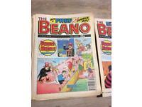 Beano Comics 1989-1990
