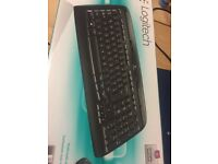 Logitech keyboard mk330 wireless