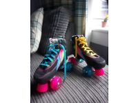 Roller skates size 3 with led wheels