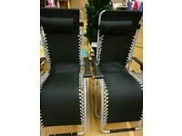 Brand new gravity chair sun loungers