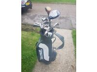 Golf clubs and set