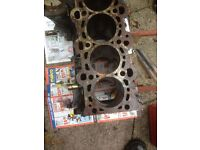 BMW 320d engine block and other parts