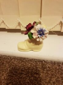 Cute Radnor China Shoe. Perfect Condition