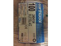 Thermal (Earthwool) insulation (rolls) £50 ONO