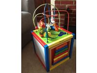 Learning and Activity Box.