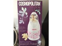 Pop corn maker cosmopolitan brand new