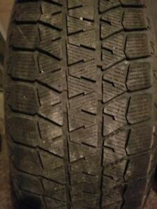 3 PNEUS HIVER BRIDGESTONE 225 60 18  - 3 WINTER TIRES