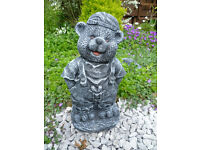 work bear garden ornament £10
