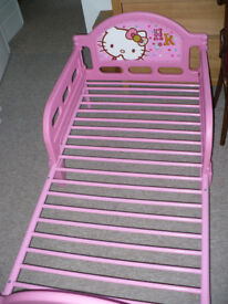 Hello Kitty Character Toddler/ Cot Bed Frame for girl 1.5-7 years old (18m+). Excellent condition!