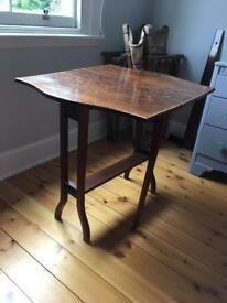 Compact Edwardian afternoon tea table