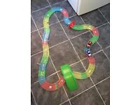 Magic Tracks and two cars