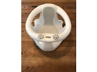 Mamas and Paps bath seat Gray and White