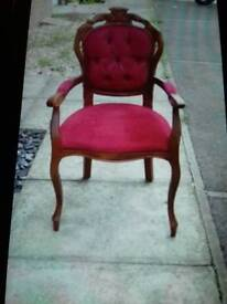 French Louis arm chair