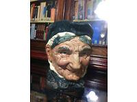 Royal Doulton 'GRANNY' Large Character Toby Jug, Rare 'A' Mark