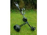 Golf Trolley . Folding / Adjustable height