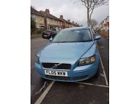 Volvo S40. 05 plate, 2 litre diesel with MOT until March 2019.