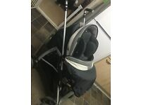 Bebecar Pram pushchair with car seat