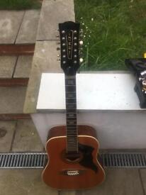 Eko Ranger 12 acoustic guitar project