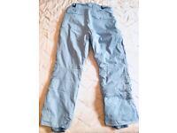Unisex ski pants size 16