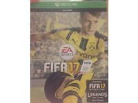 Xbox one Fifa '17 code for full game