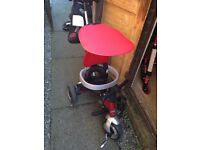 Red Alu trike baby toy ROCHDALE