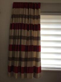 Stunning hand made curtains