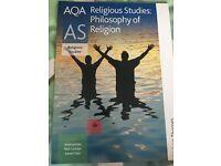 AQA Philosophy AS textbook