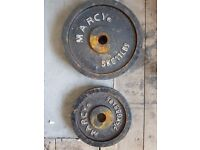 15kg Marcy Weights