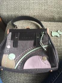 Radley Handbag Rare wool fabric
