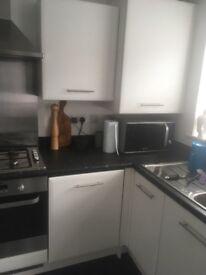 White Matt Kitchen Cabinet Doors x 14