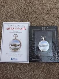 Aces of the air pocket watch