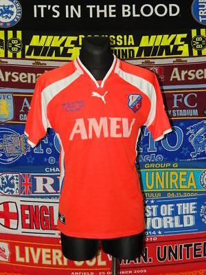 4/5 FC Utrecht adults L 2002 cup original football shirt jersey trikot maglia image