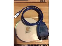BMW cable with two DVDs