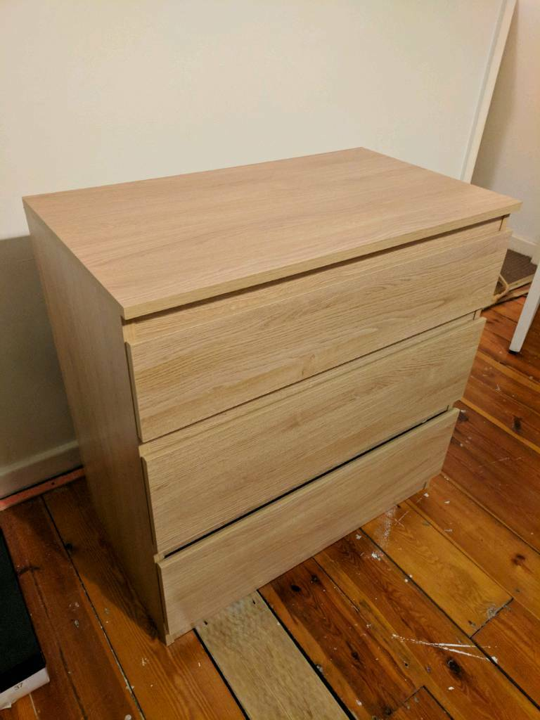 Bedroom Drawers - High Quality - Oak Style