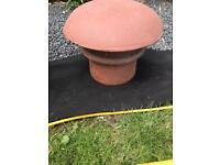 Terracotta chimney pot