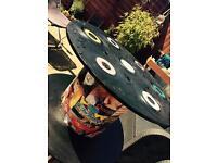 Retro Vinyl Coffee Table