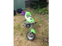 Mini and midi moto's