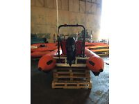 BRAND NEW Sprite Inflatable Orange Zapcat Catamaran 40hp engine (23 Available)