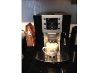 DeLONGHI PERFECTA BEAN TO CUP less than 1 yr old fully automatic coffee machine