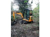 SUPERIOR MINI DIGGERS MINI DIGGER AND DRIVER HIRE FROM £ 225.00 PER DAY FULLY INCLUSIVE ***