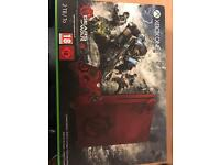 As new Gears Of War 4 ltd edition 2tb Xbox one S console