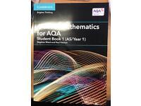 Aqa a level maths book