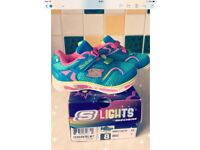 Sketchers Lights Trainers size 7