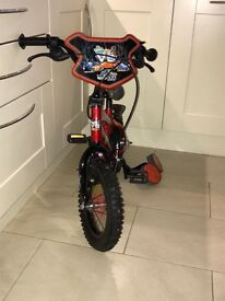 Boys 12 inch red bike